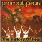 Primal Fear - The History Of Fear CD + DVD - SEALED NEW Heavy Metal Album