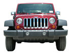 Chrome ABS plastic Grille Overlay 1Pc Fits Jeep Wrangler JK S
