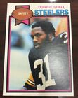1979 TOPPS DONNIE SHELL ROOKIE CARD HOF NICE!!!