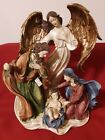 Mark Roberts 15 x 11Nativity Holy Family Angel Religious Christmas Table Decor