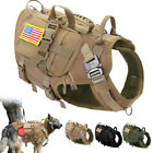 Military Tactical K9 Dog Harness MOLLE Vest Dog Training Working German Shepherd