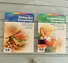 Weight Watchers 2004 Complete Food Companion and Dining Out Companion Books