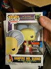 Funko Pop NYCC Exclusive The Simpsons Vampire Mr. Burns #825 Shared