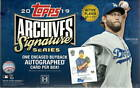 2019 Topps Archives Signature Series Baseball Box w 1 Encased Buyback Auto. Card