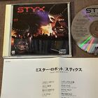 STYX Kilroy Was Here JAPAN CD D32Y3090 w/INSERT 1986 Canyon issue 3,200 JPY