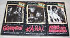 Andrzej Wajdas War Trilogy VHS Video Set A Generation Kanal Ashes and Diamonds