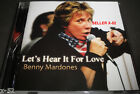 BENNY MARDONES cd LET's HEAR it for LOVE Eddie Money Katrina Carlson Rob Kirmsse