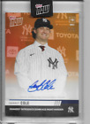 2019 Topps NOW OS-55BE GERRIT COLE New York Yankees ON-CARD AUTOGRAPH #'d 1 5