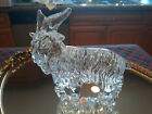 EXQUISITE  RARE VINTAGE BACCARAT ART GLASS GOAT  FLAWLESS