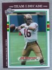 Joe Montana Football Cards and Rookie Cards Checklist 17
