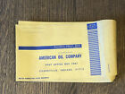 (Qty 5) VINTAGE AMCO Gas Station American OIL Company Envelopes -Evansville, In