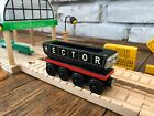 Thomas The Train HECTOR Wooden The Coal Hopper Car RARE