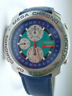 United Colors of Benetton Mega Chrono by Bulowa Alarm Chronograph BN 101 Vintage