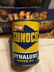 Old Sunoco Metal Oil Can Bank