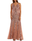 Nightway Beaded Long Gown MSRP $149 Size 8 # 12B 973 Blm