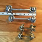 Bronze and Stainless Boat Cabin Door Hooks and Hatch Hardware  New out of box