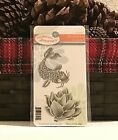 Fun Stampers Journey KOI DREAMS Rubber Stamp set RARE RETIRED ASIAN POND FISH