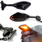 Motorcycle Integrated LED Turn Signal Rearview Mirror for Suzuki GSXR1000 GS500F