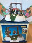 2004 Lemax Christmas Village Animated Table Accent Swing Time