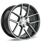 4 20 Ace Alloy Wheels AFF02 Grey with Machined Face Rims B3