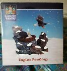 Lemax Carole Towne Collection Eagles Feeding Village Accessory # 33401