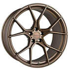 4 19 Staggered Stance Wheels SF07 Satin Bronze Rims B30