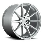 4 20 Niche Wheels M146 Essen Silver Machined RimsB31