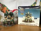 2006 Carole Towne Beautiful Bulbs Floral Shop Christmas Village Lighted New!