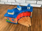 Thomas The Train Imaginarium Brio Wooden Roundhouse Shed and Turntable