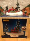 2005 Lemax Christmas Village Animated Table Accent Around We Go Merry Go Round