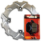 Rear Brake Rotor + Pads for Suzuki XF650 Freewind 1997-1998-1999-2000-2001-2002