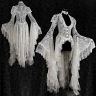 Womens Baroque Vintage Lace Dress Elegant Victorian Ball Gown Cosplay Medieval