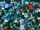 Czech Glass Beads 1lb Bag Of Assorted Shapes And Sizes Coral Reef