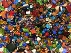 Czech Glass Beads 1lb Bag Of Assorted Shapes And Sizes Jewel Tones