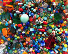 Czech Glass Beads 1lb Bag Of Assorted Shapes And Sizes Summer Mix