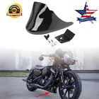 Front Chin Fairing Spoiler Fit for Harley Custom XL1200C XL883C Sportster JH1