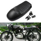US Black Cafe Racer Hump Seat Leather for Harley Sportster 1200 Custom XL1200C