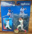 Jim Thome MLB Starting Lineup AUTOGRAPH! 1998 Cleveland Indians