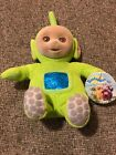 TELETUBBIES DIPSY PLUSH BEANIE BABY 1998 FLOCKED FACE EDEN DOLL New With Tags