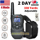 Dog Shock Collar Training Bark E Collar Electric Remote For Small Large Big Dogs