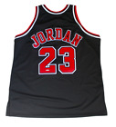 Michael Jordan Chicago Bulls LE # 223 Signed Mitchell & Ness Black Jersey UDA