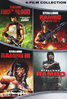Rambo Complete Collection DVD 2016 4 Disc Set Classic Action Movie
