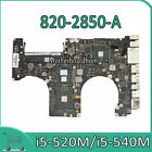 Motherboard for Macbook Pro 15 A1286 MC373CH 2010 i5 520M 540M 820 2850 A