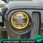For Jeep Wrangler Headlight Assemblies 18-19 HID Xenon Beam Projector LED DRL