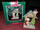 1989 Hallmark WINDOWS OF THE WORLD German #5 Fröhliche Weihnachten Ornament