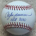 "Andre Dawson ""HOF 2010"" Expos Cubs Autographed Baseball JSA Witnessed"