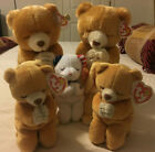 Ty Beanie Babies Hope Praying Bear Grace/American Blessing Lot MWMT Errors!!