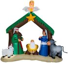 Gemmy 36707 65ft Tall Airblown Nativity Scene Holiday Inflatable GradeB