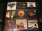 Rare Metal 9 CD Lot Randy Rose Burn Halo Pillar Taking Dawn Destrophy Big Storm