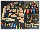 Thomas the Train Wooden Track Railroad Railway 80+ PIECES HUGE LOT
